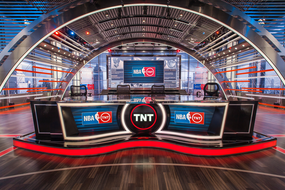 NBA on TNT Broadcast Set Design Gallery