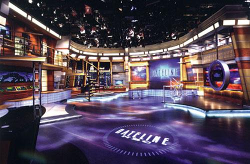 NBC News Broadcast Set Design Gallery