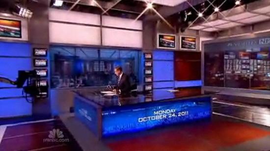 NBC News Studio 3B Broadcast Set Design Gallery