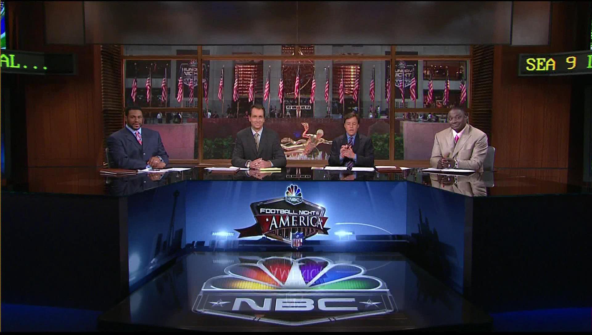 NBC Sports Studio 8G Broadcast Set Design Gallery