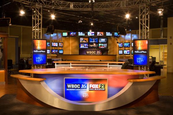 WBOCTV Broadcast Set Design Gallery