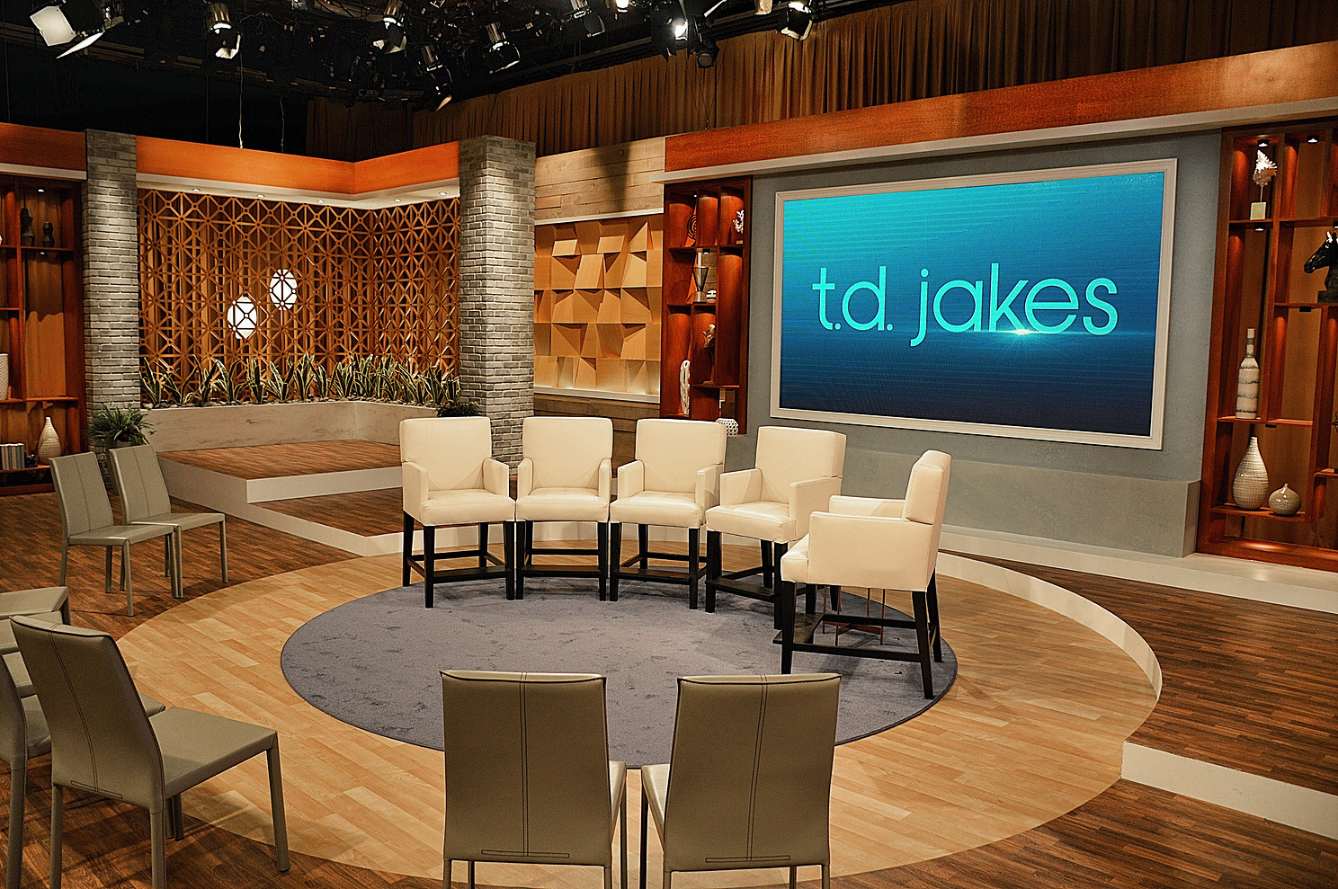 TD Jakes Broadcast Set Design Gallery