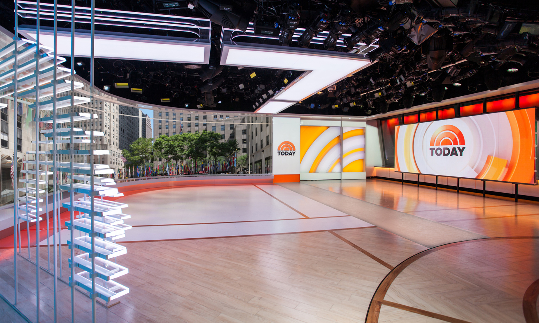 NBCs Today Show  Studio 1A Gallery