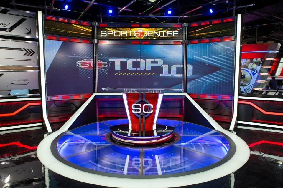 SportsCentre Broadcast Set Design Gallery
