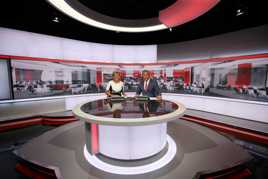 Tv3 Newshub Set Design Gallery