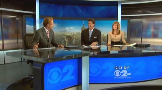 NYC CBS OO debuts new home  NewscastStudio