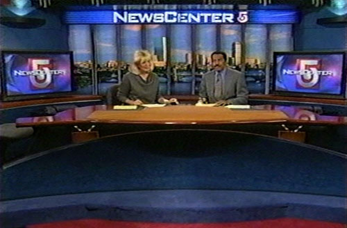 WCVBTV Broadcast Set Design Gallery