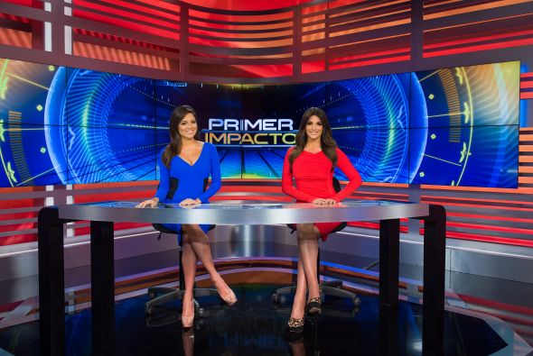 Primer Impacto Broadcast Set Design Gallery