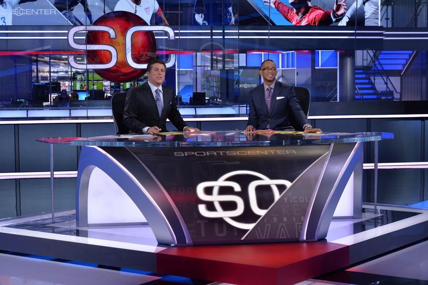 SportsCenter Broadcast Set Design Gallery
