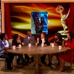 Motion Sofa Set Bay Area Newark Reviews Cbs's 'the Talk' Updates With Huge Screens ...