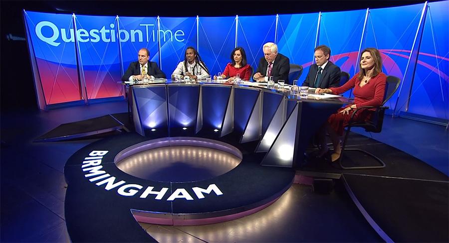 Bbc Upgrades Question Time Set Newscaststudio