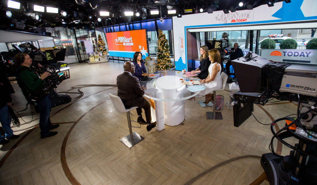 See how daytime talk TV decked their sets for the