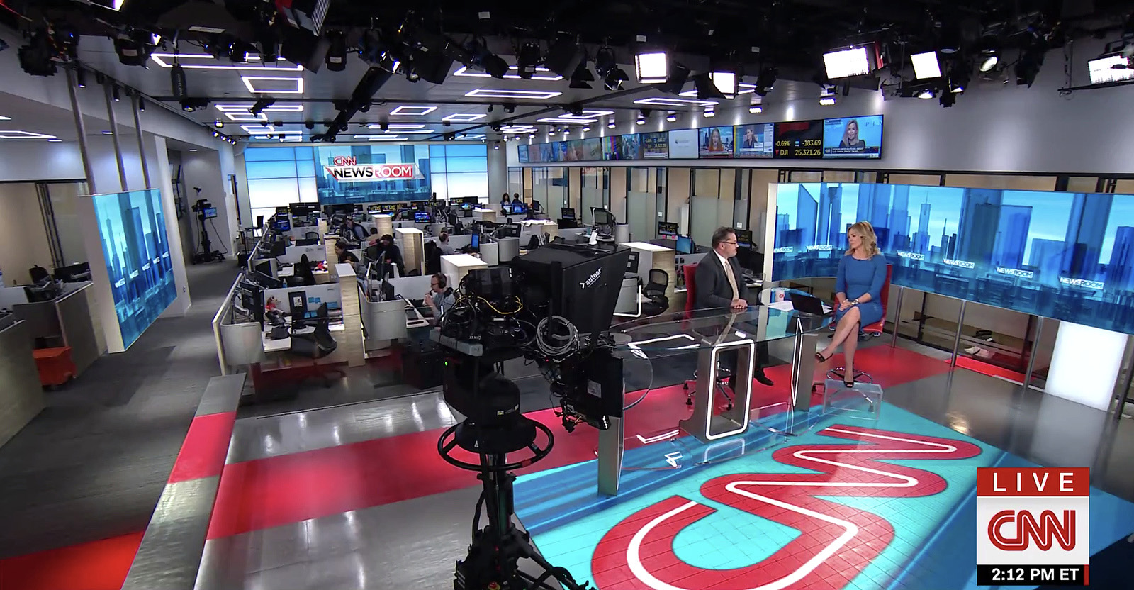 Cnn Studio 17n Broadcast Set Design Gallery