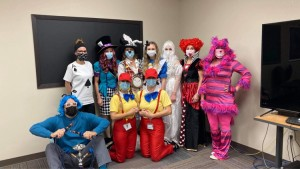 Community Health Center of the Black Hills dress up for Halloween