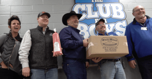 Beef Donation to Club for Boys