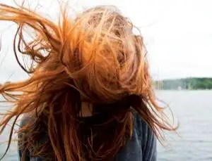 why dyed hair is