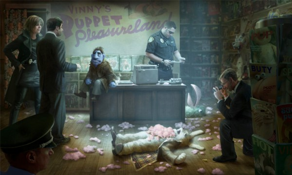The Happytime Murders - concept art 2