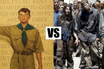 Scouts vs Zombies film