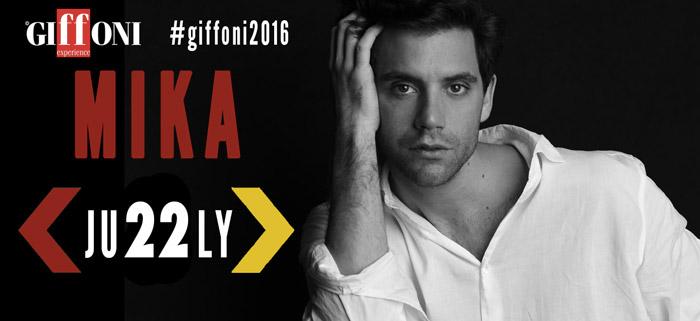 Mika ospite al Giffoni 2016