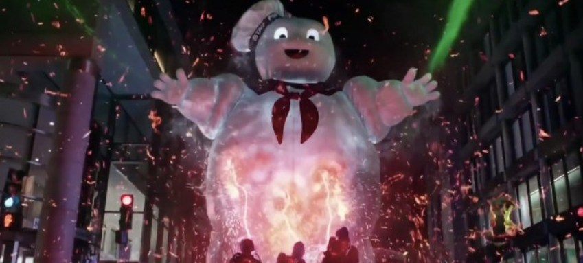 Uomo Marshmallow in Ghostbusters