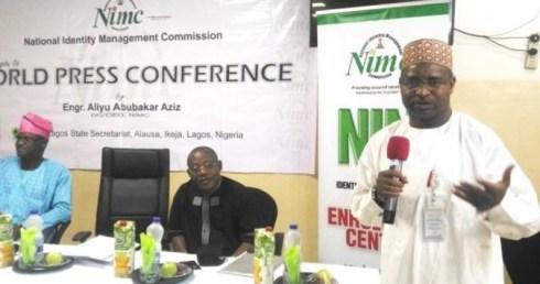 Image result for Engr. Aliyu Aziz, the Director-General (DG) of NIMC