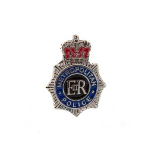 Metropolitan Police Service Badge Lapel Pin Badge