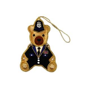 Police-bear Christmas Decoration