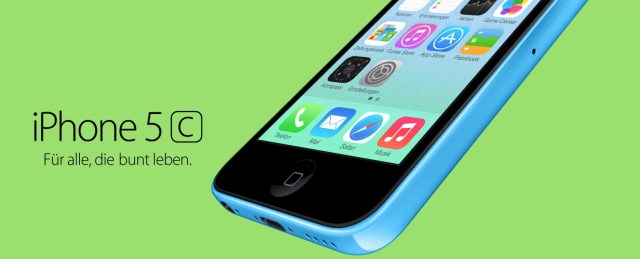 Apple iPhone 5c (Bild: Apple)