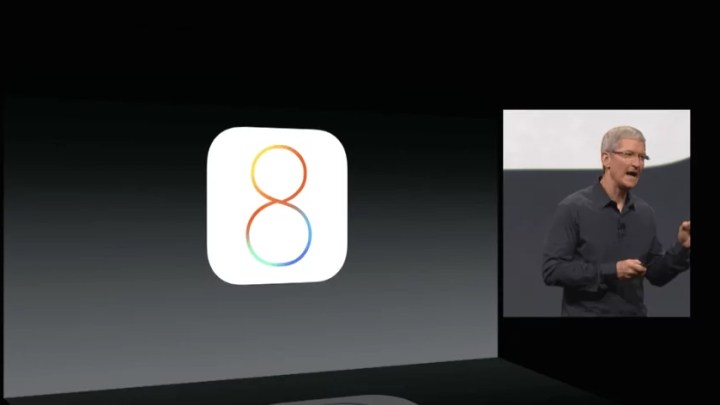 Apple WWDC 2014: iOS 8