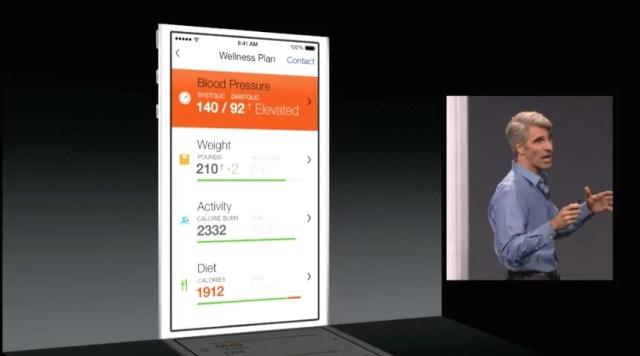 iOS 8 - Gesundheit