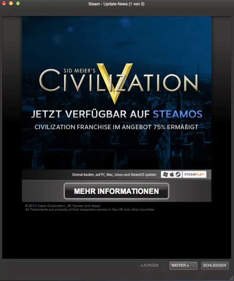 Steam - Sid Meiers Civilization 5