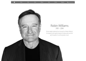 Robin Williams at Apple