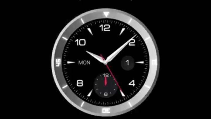 LG G Watch R: Runde Smartwatch zur IFA