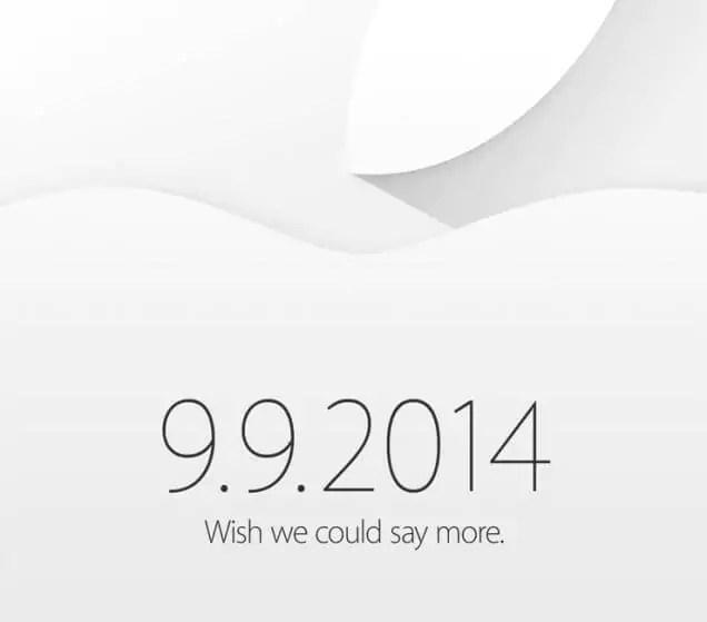 Apple Event 9. September 2014