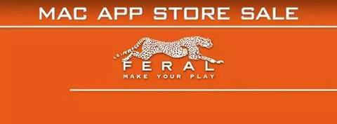 Spiele von Feral Interactive im Mac App Store bis zu 75% günstiger