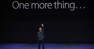 """Apple Watch vorgestellt - """"One more thing…"""" 6"""