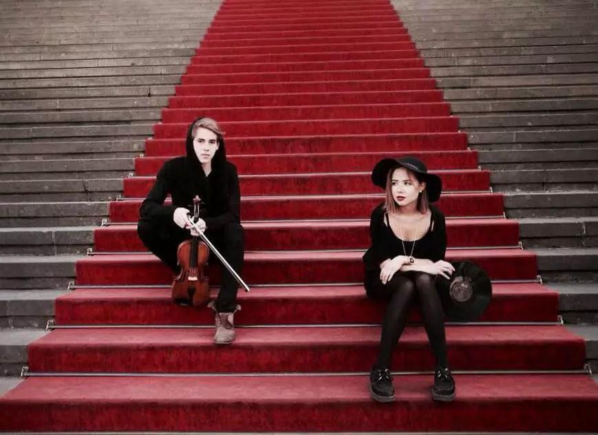 Musiker-Duo GLYCKSKYND im Interview