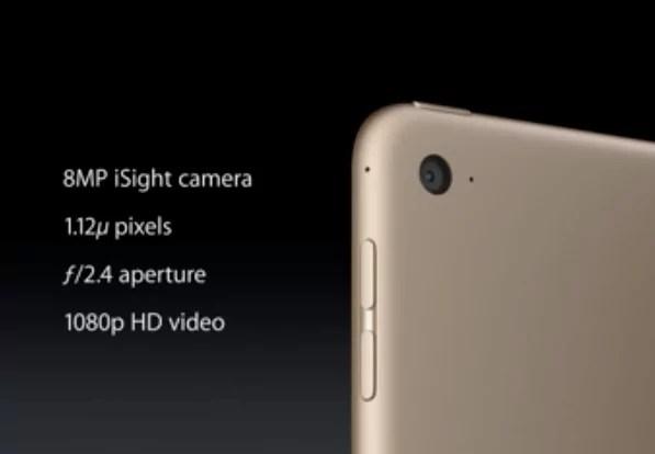 iPad Air 2 - Kamera