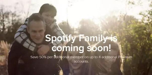 Spotify Family bald auch in Deutschland