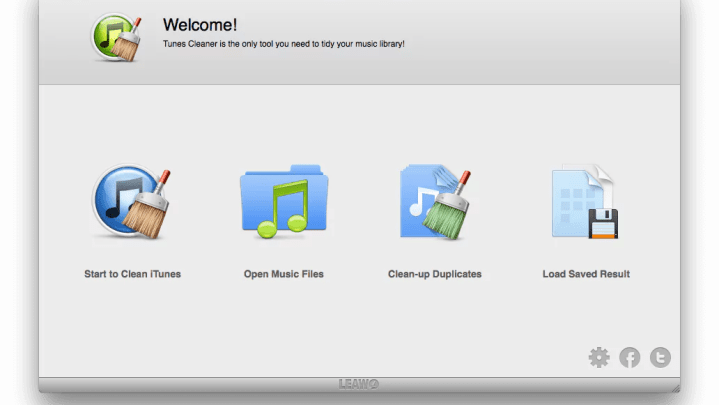 Die iTunes-Library mit Leawo Tunes Cleaner bereinigen