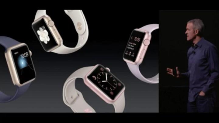 Apple Event: Apple stellt WatchOS 2 vor