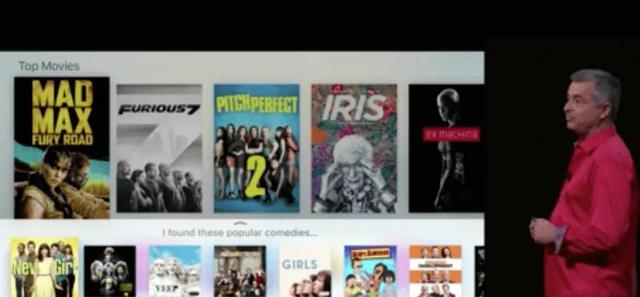 AppleTV, Siri