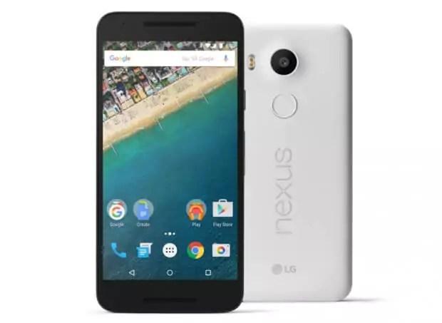 Google-nexus-5X-Smartphone