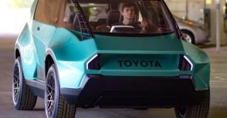 Toyota zeigt neues Elektroauto mit außergewöhnlichem Design 1