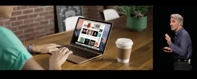 macOS Sierra - Login with Apple Watch