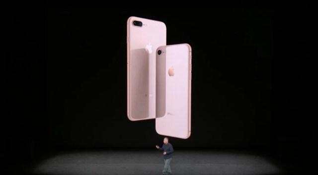 iPhone 8 mit Glas-Design