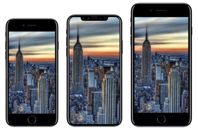 iPhone 8, iPhone X und iPhone 8 Plus im Vergleich