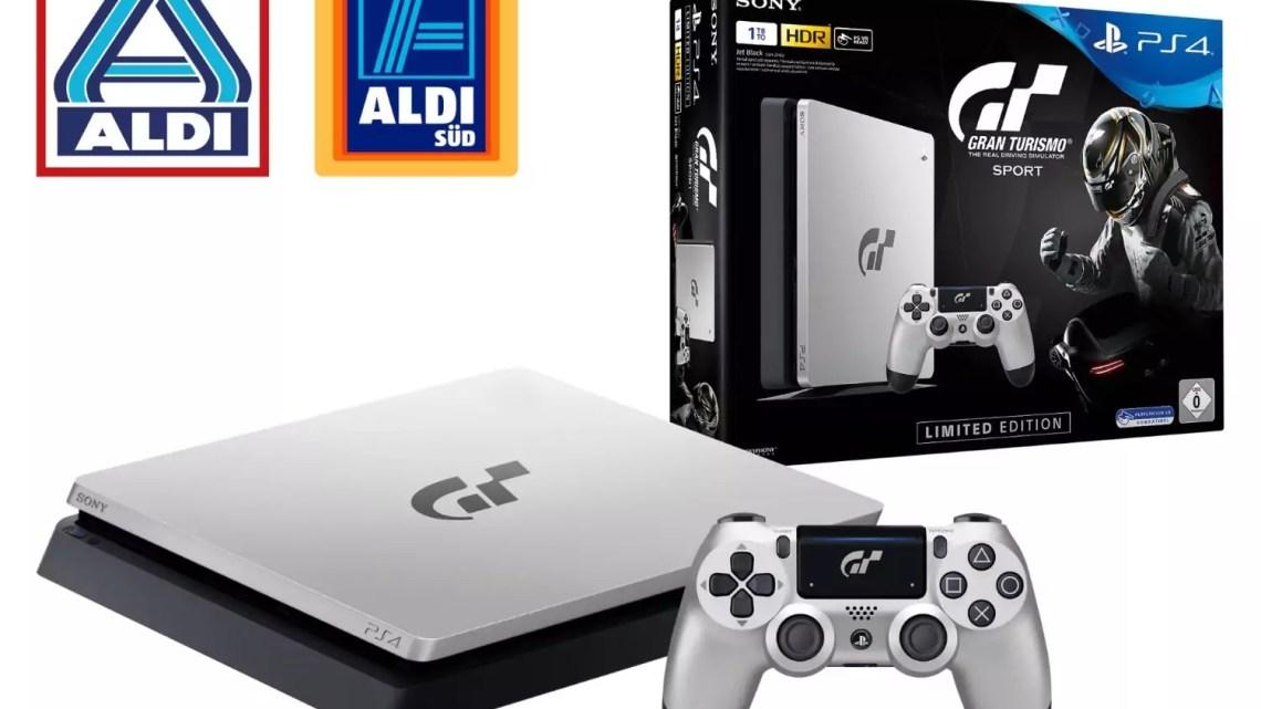 "PlayStation 4: ""Gran Turismo Sport Limited Edition"" exklusiv bei Aldi"