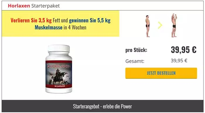 Horlaxen Supplement - Haltlose Versprechungen