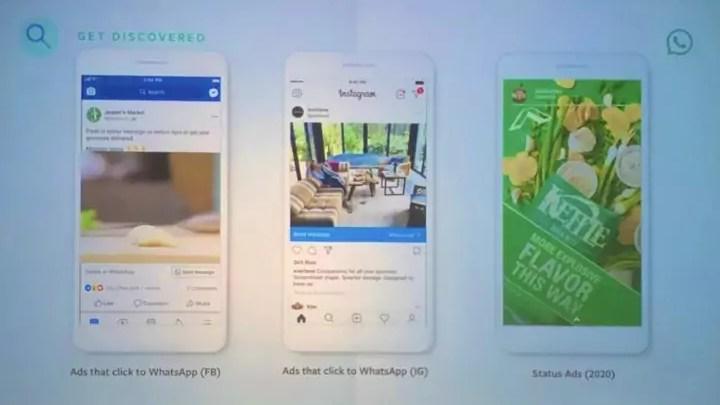WhatsApp Werbung: So sieht sie aus